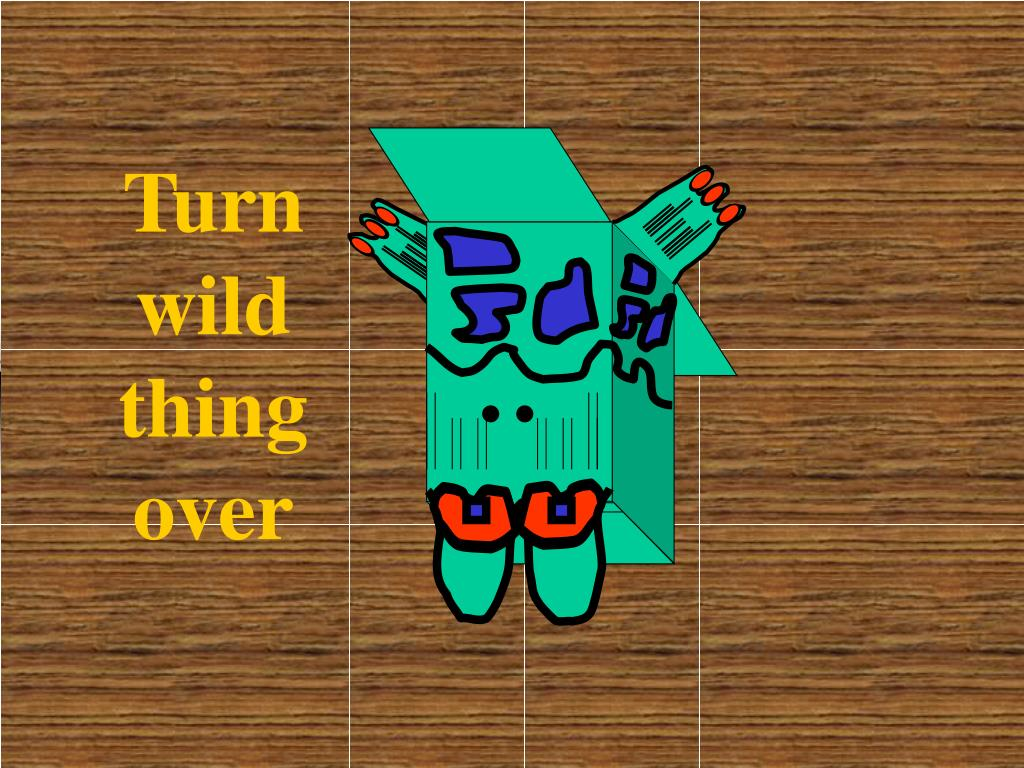 Turn wild thing over