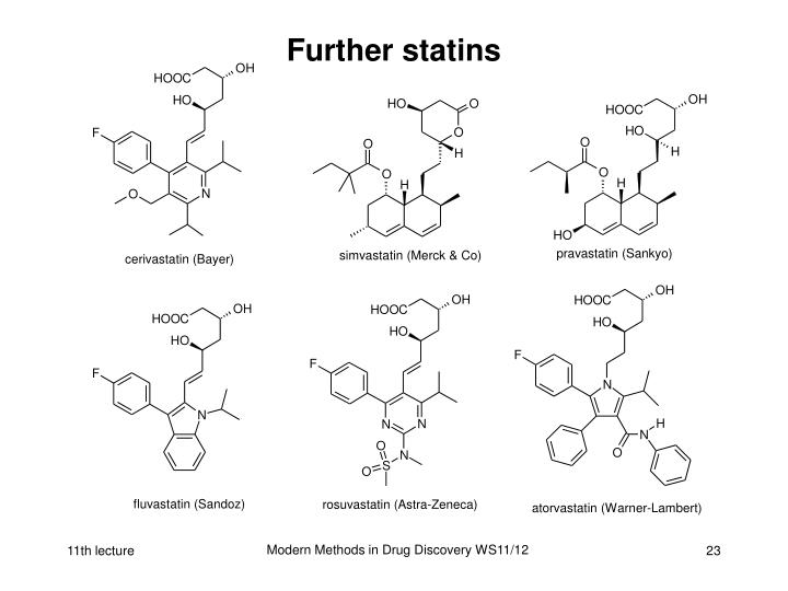 Further statins