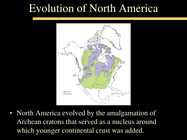 the evolution of the north american Evolution of a native american society: a journey through ancient history print as a native american culture, the chickasaw people broadly trace their ancestry back to the migratory peoples of the paleo-indian period , which spanned from roughly 10,000 bc - 8500 bc.