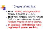 cresce la yeshiva