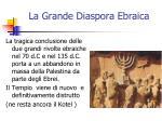 la grande diaspora ebraica