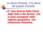 la storia d israele la storia del popolo d israele