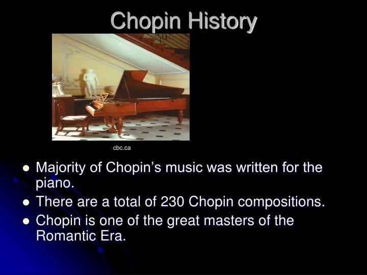 Chopin History