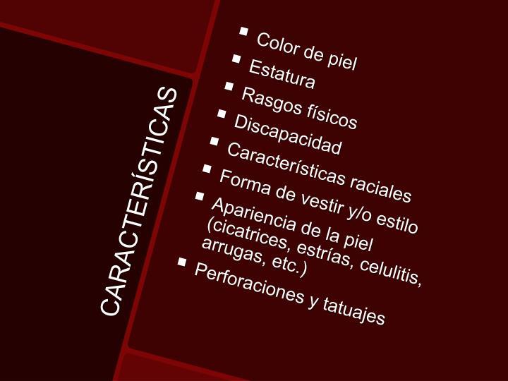 Color de piel