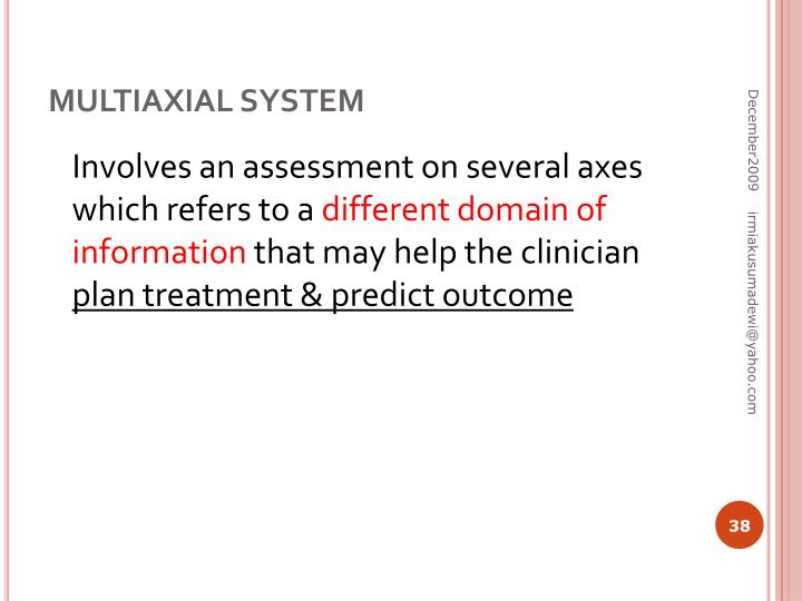 MULTIAXIAL SYSTEM