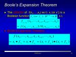 boole s expansion theorem