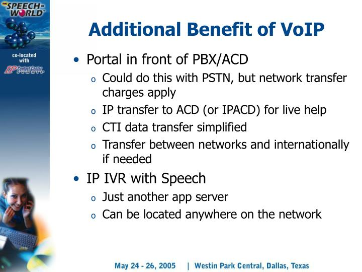 Additional Benefit of VoIP