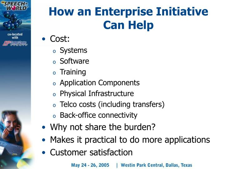 How an Enterprise Initiative Can Help