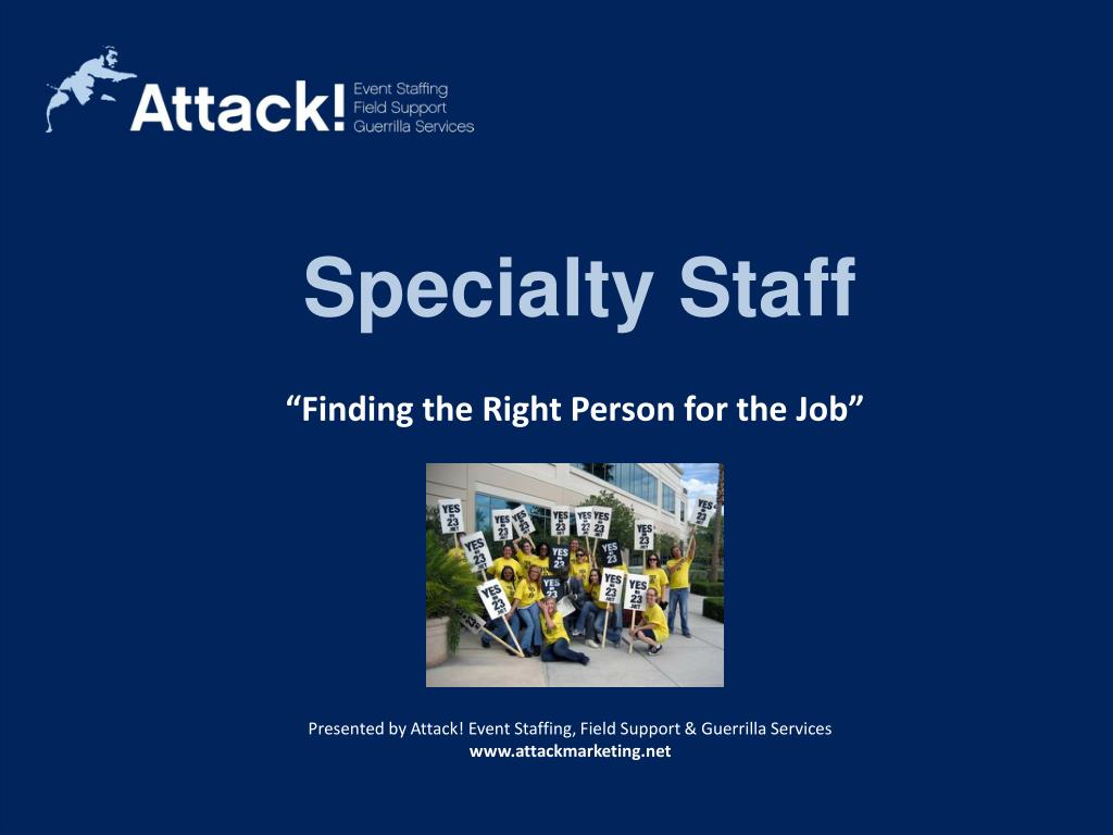 Specialty Staff
