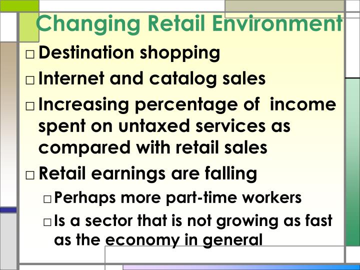 Changing Retail Environment