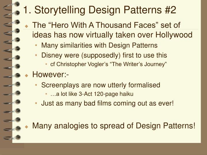 1. Storytelling Design Patterns #2