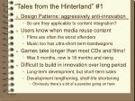 tales from the hinterland 1