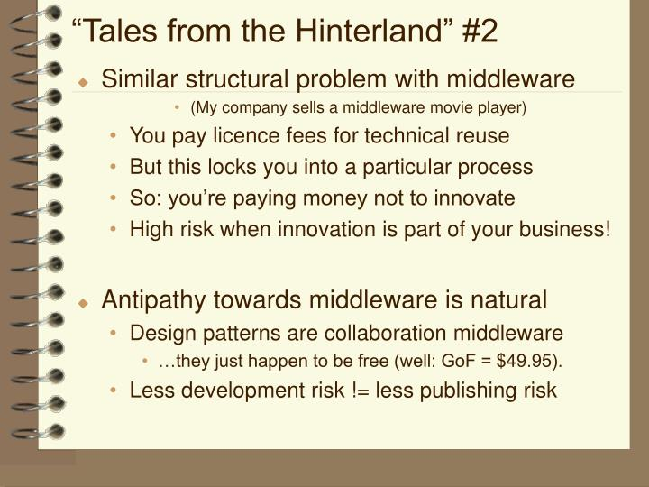 """Tales from the Hinterland"" #2"