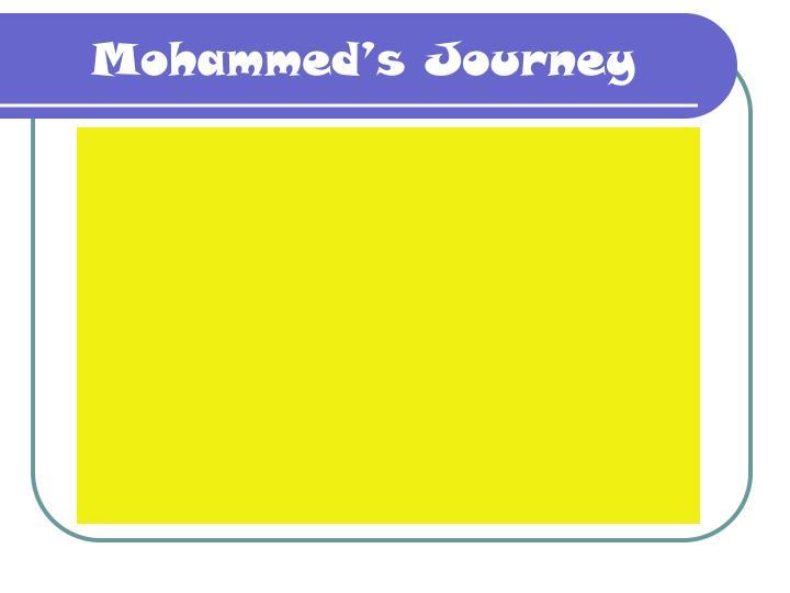 Mohammed's Journey