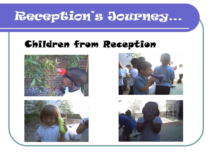 Children from Reception