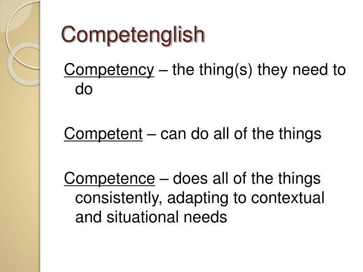 Competenglish