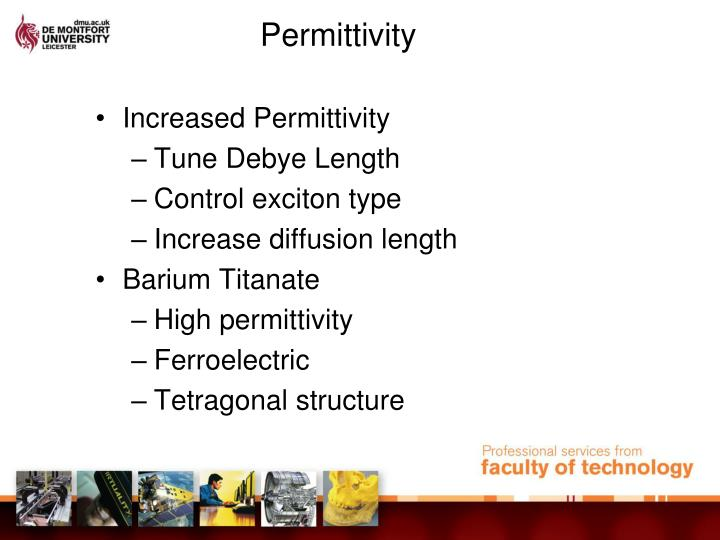 Permittivity