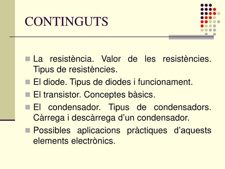 CONTINGUTS