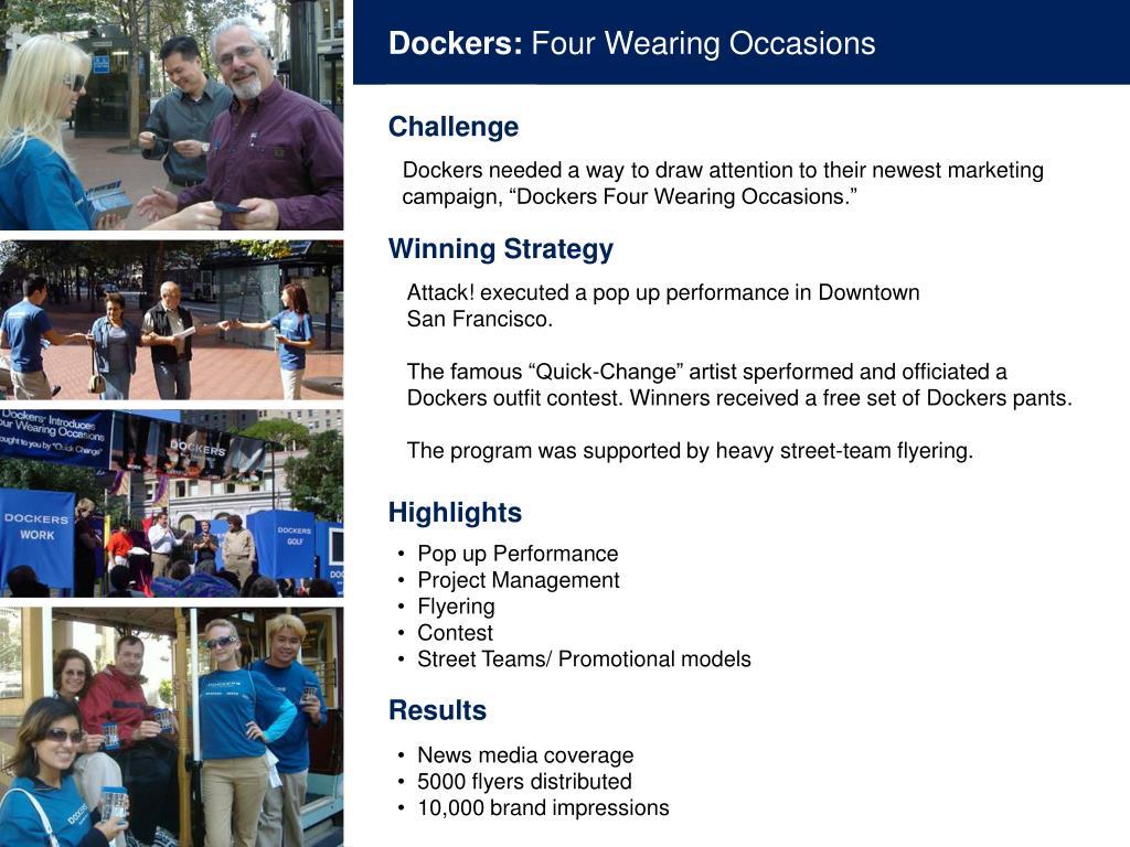 Dockers: