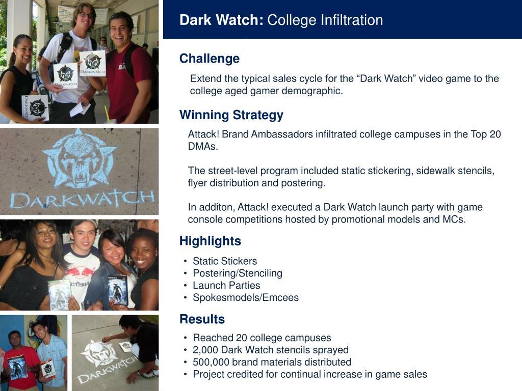 Dark Watch:
