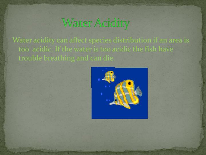 Water Acidity