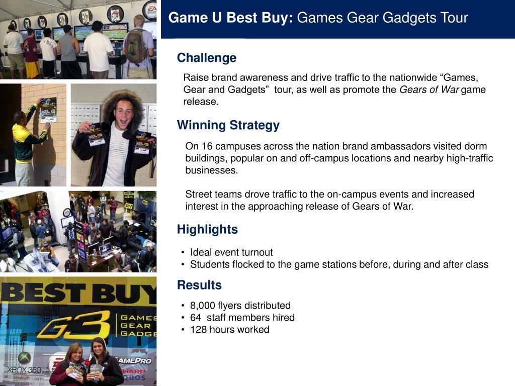 Game U Best Buy: