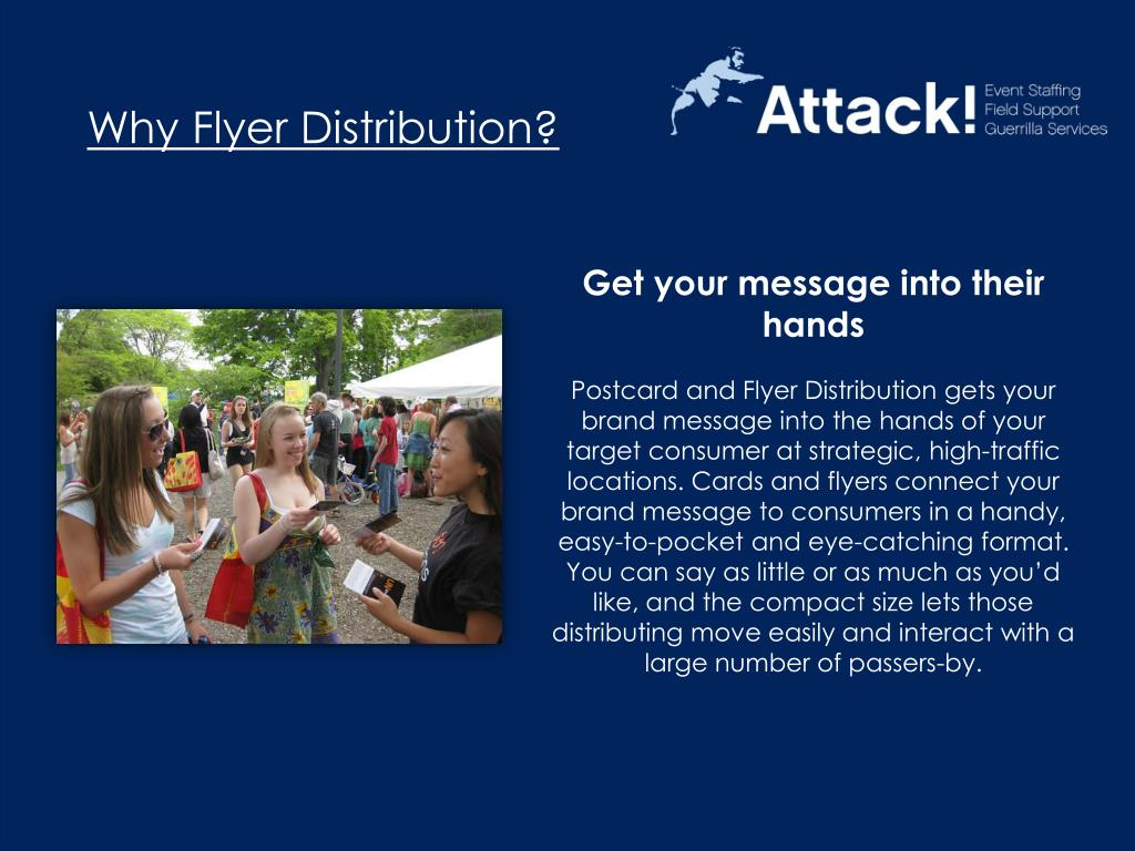 Why Flyer Distribution?