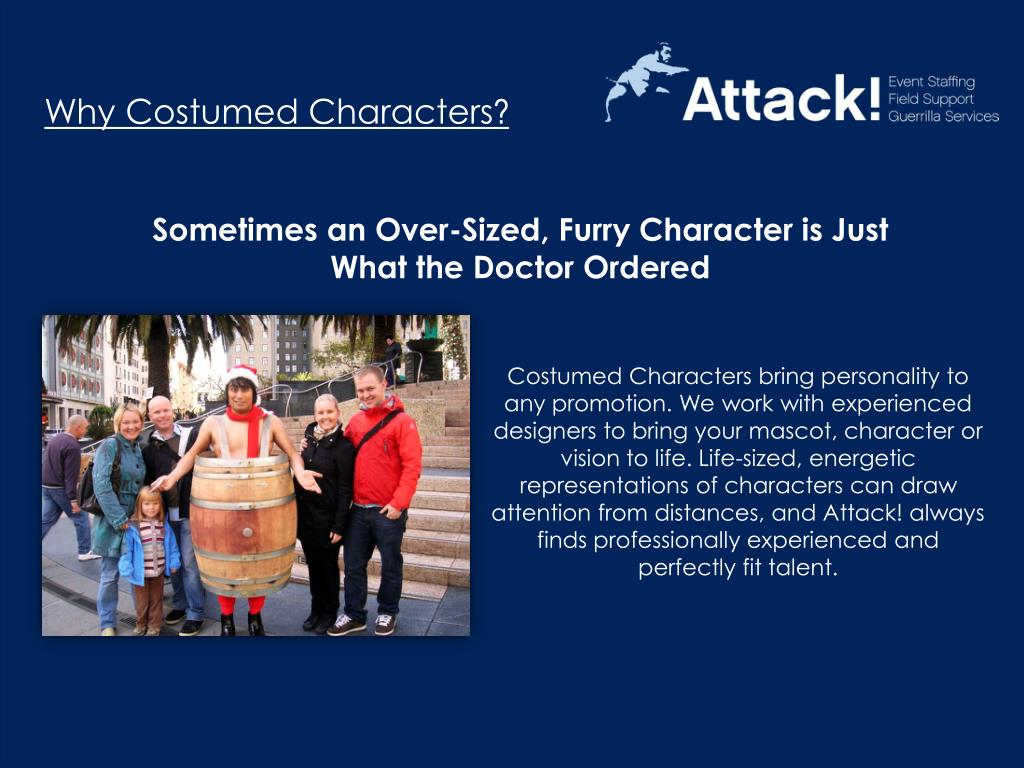Why Costumed Characters