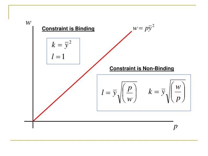 Constraint is Binding