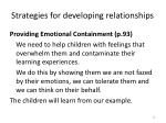 strategies for developing relationships3