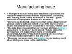 manufacturing base