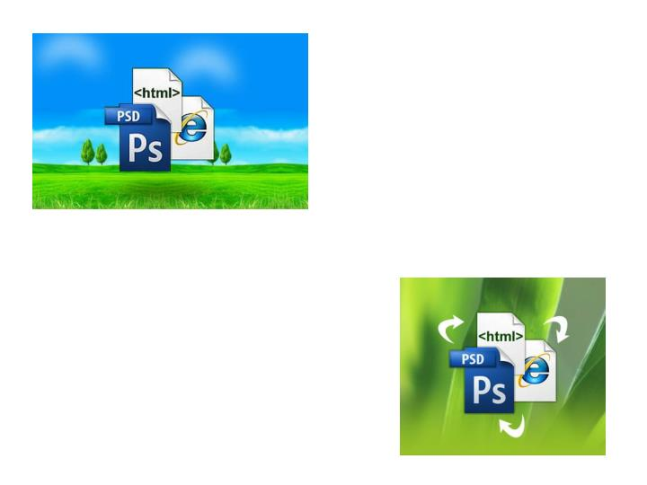 Psd to html conversion can be simple