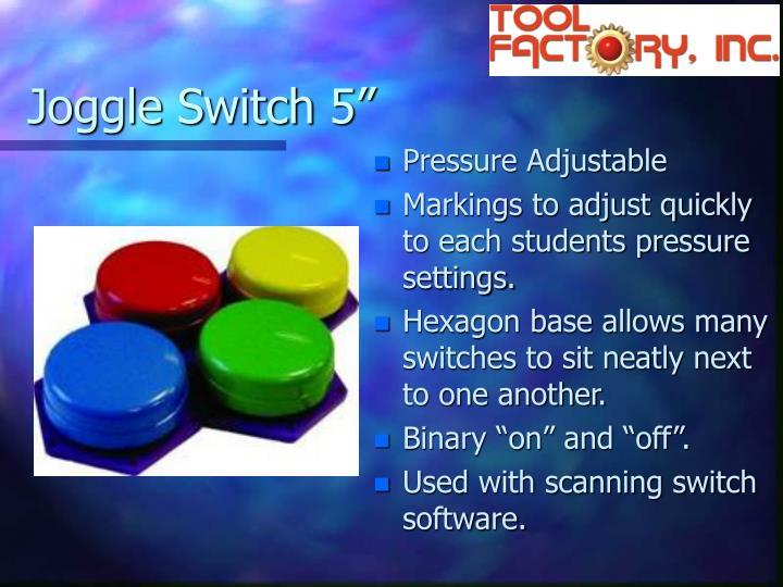 """Joggle Switch 5"""""""