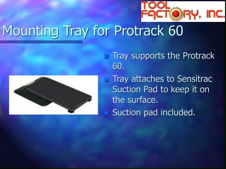 Mounting Tray for Protrack 60