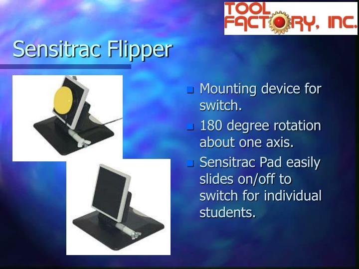Sensitrac Flipper