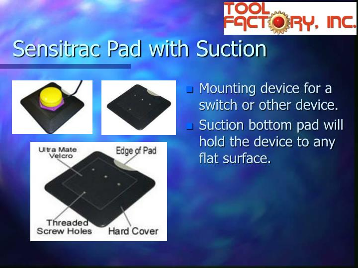 Sensitrac Pad with Suction