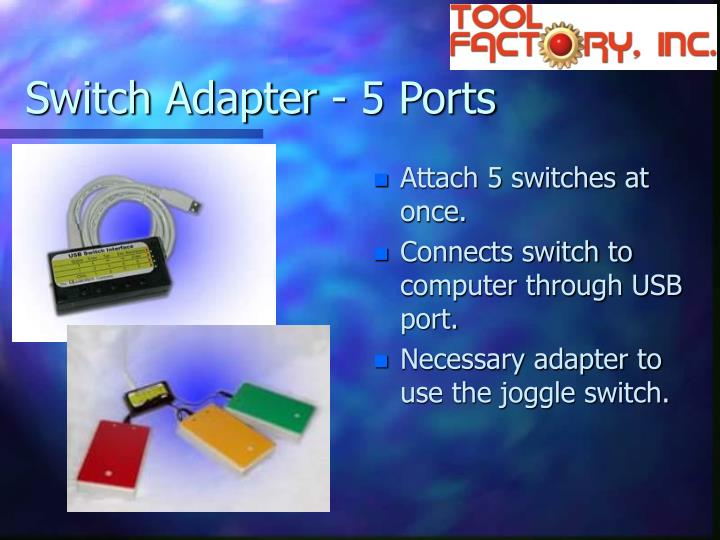 Switch Adapter - 5 Ports