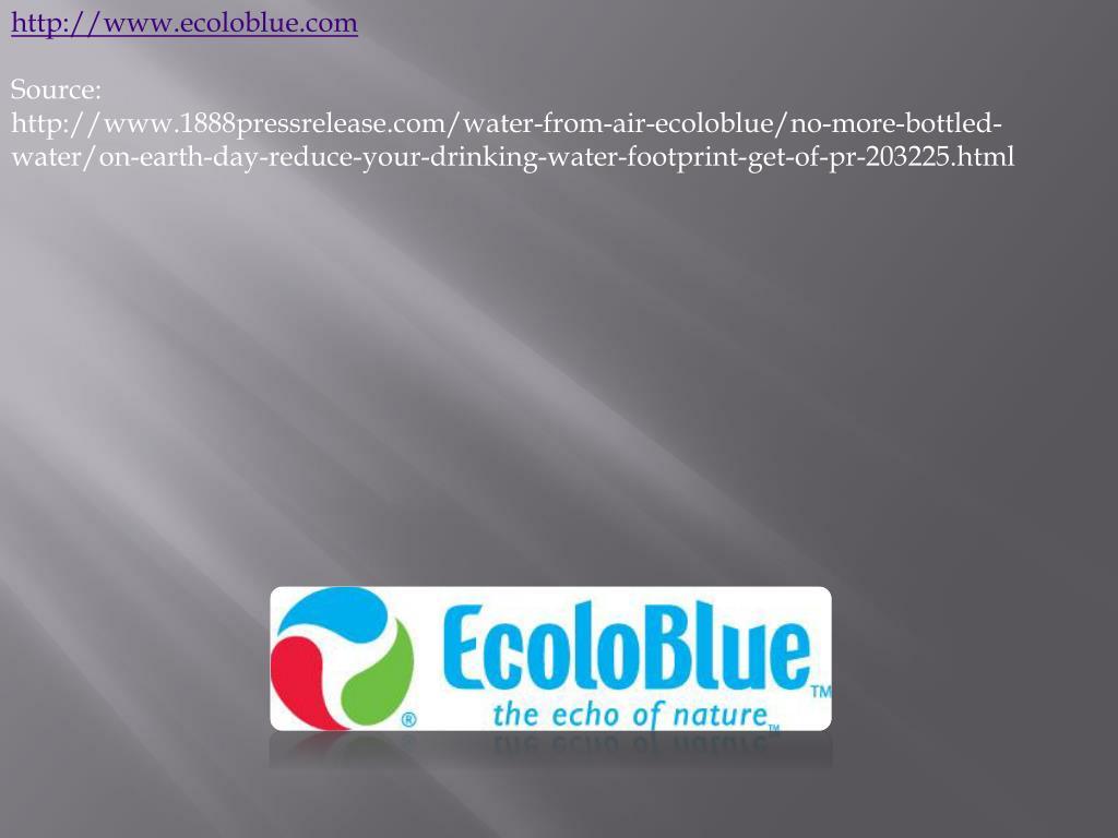http://www.ecoloblue.com