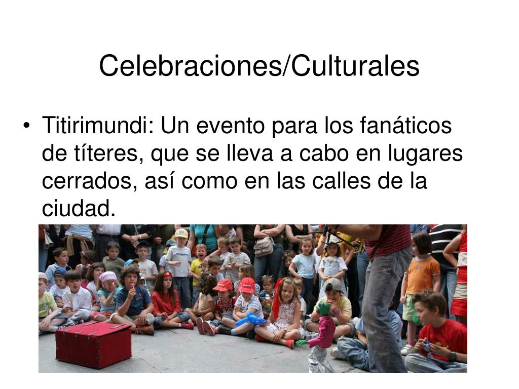 Celebraciones/Culturales