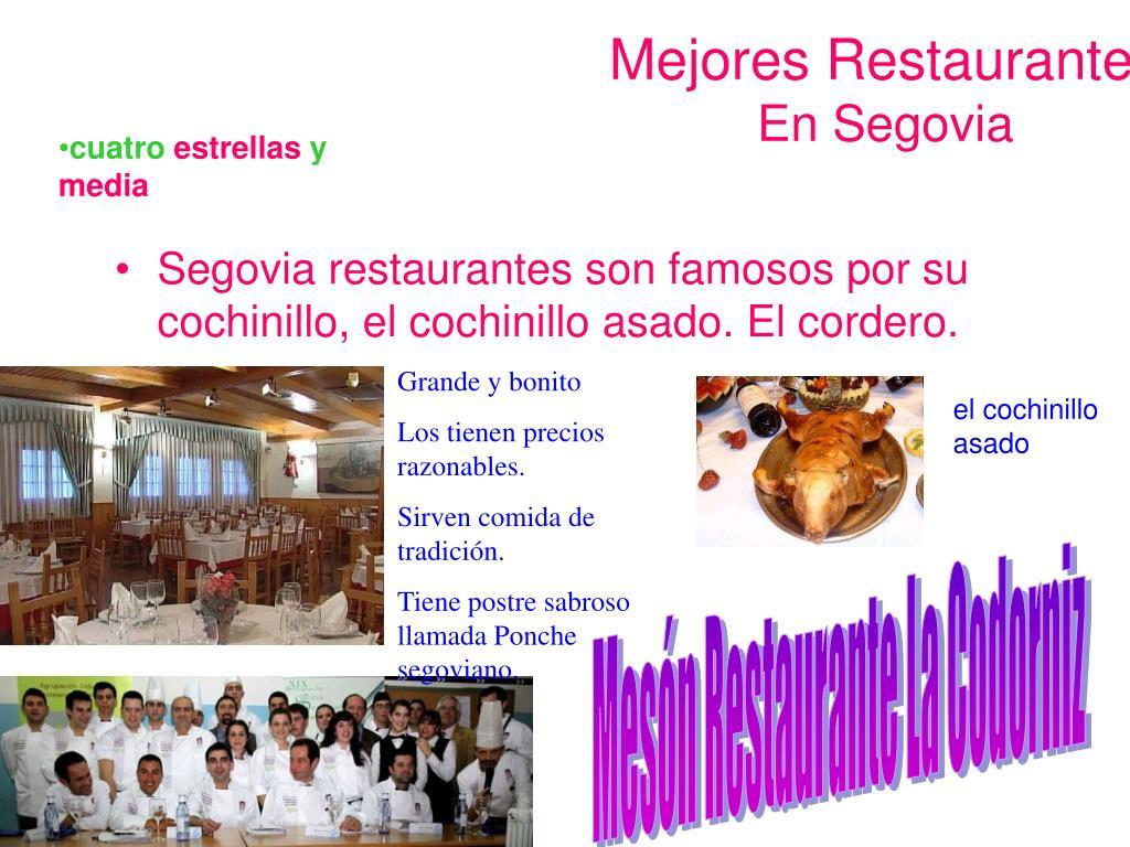 Mejores Restaurantes