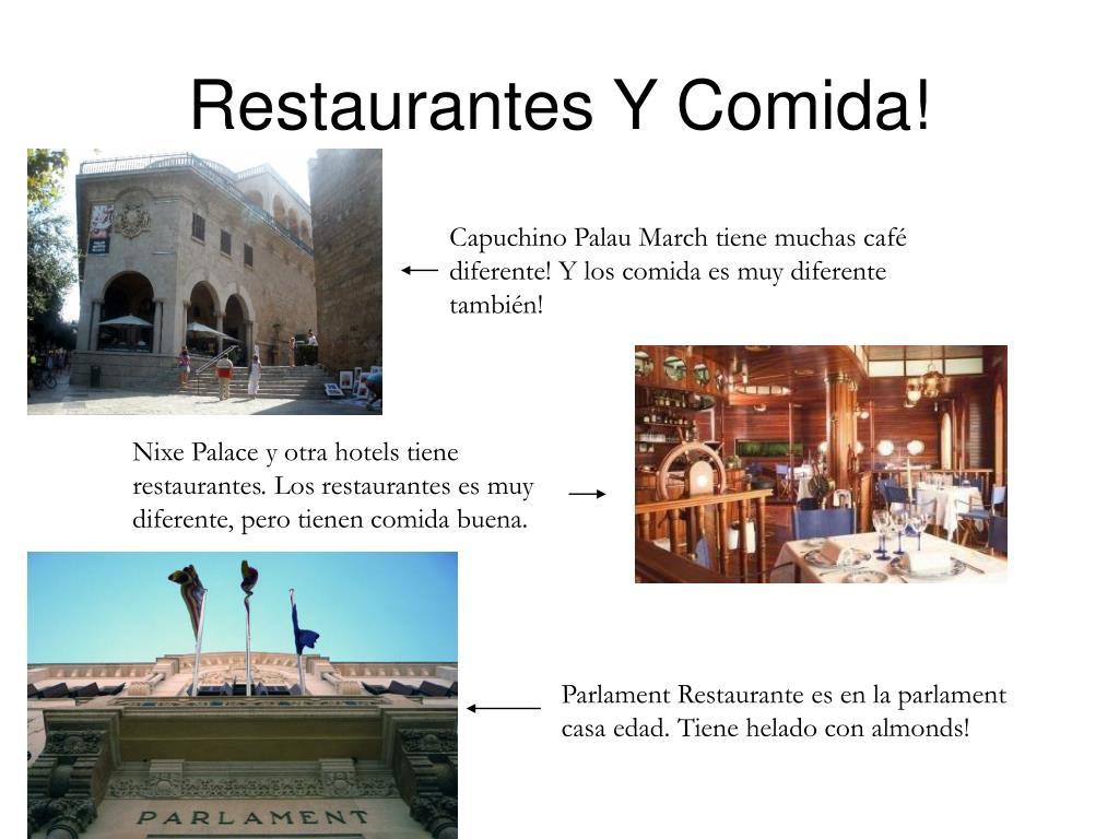 Restaurantes Y Comida!