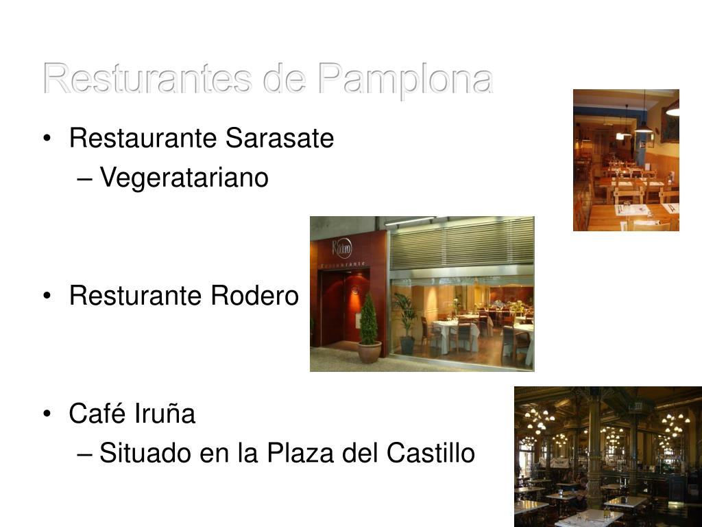 Resturantes de Pamplona