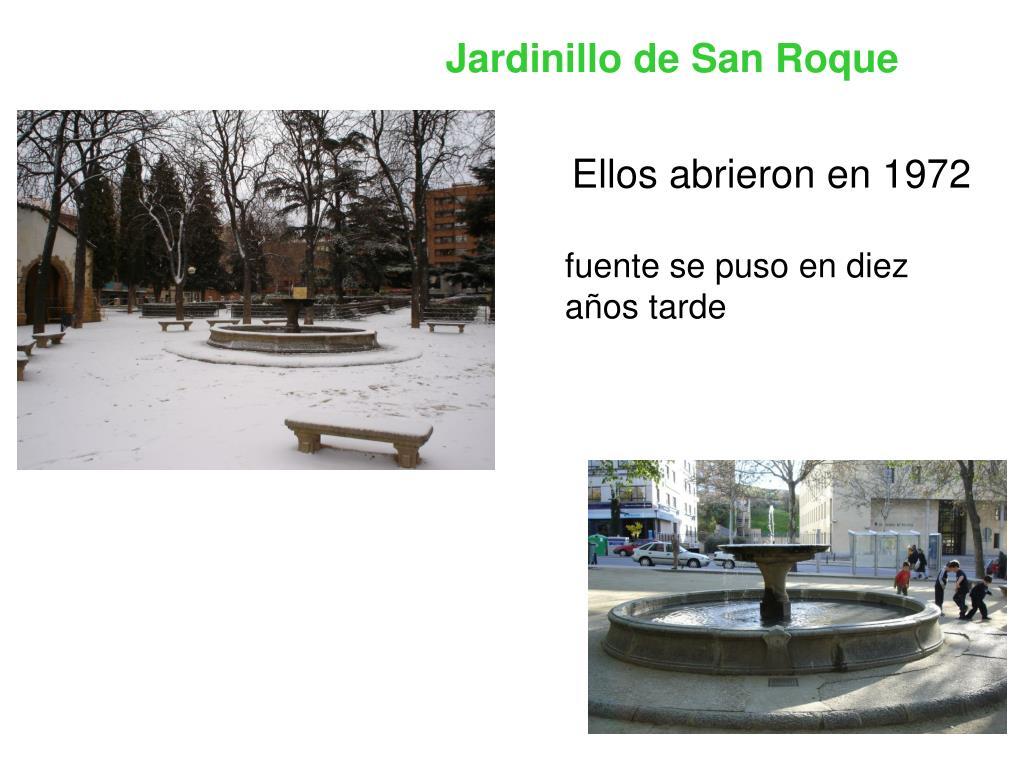 Jardinillo de San Roque