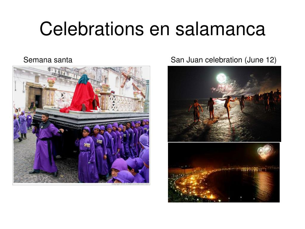 Celebrations en salamanca