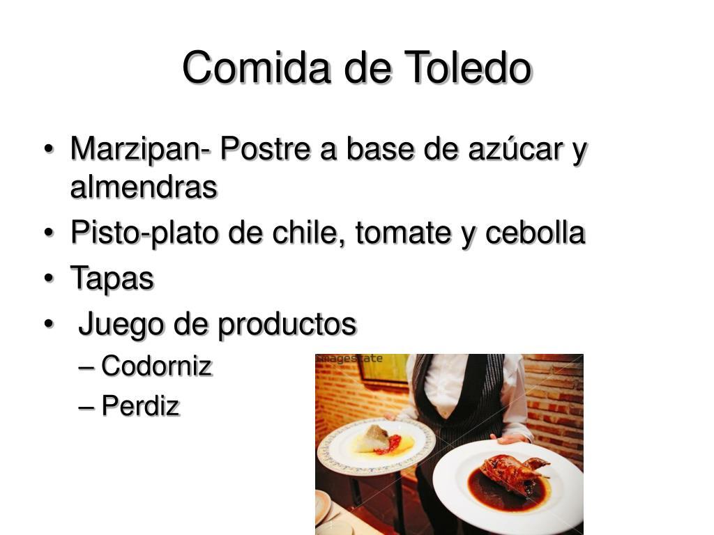 Comida de Toledo