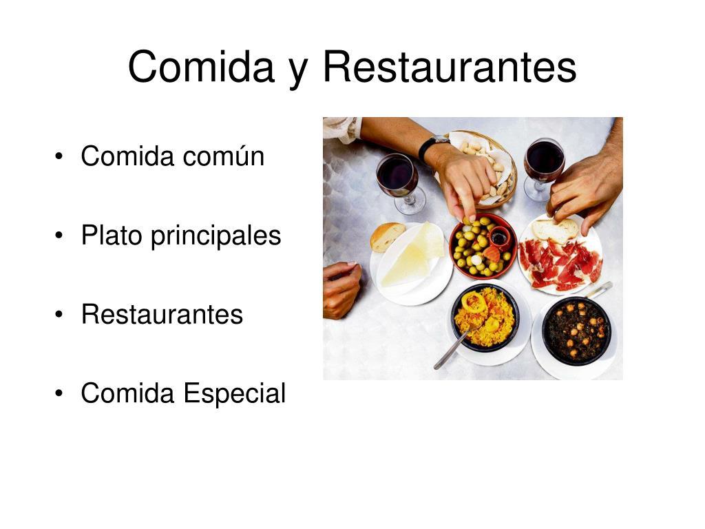Comida y Restaurantes