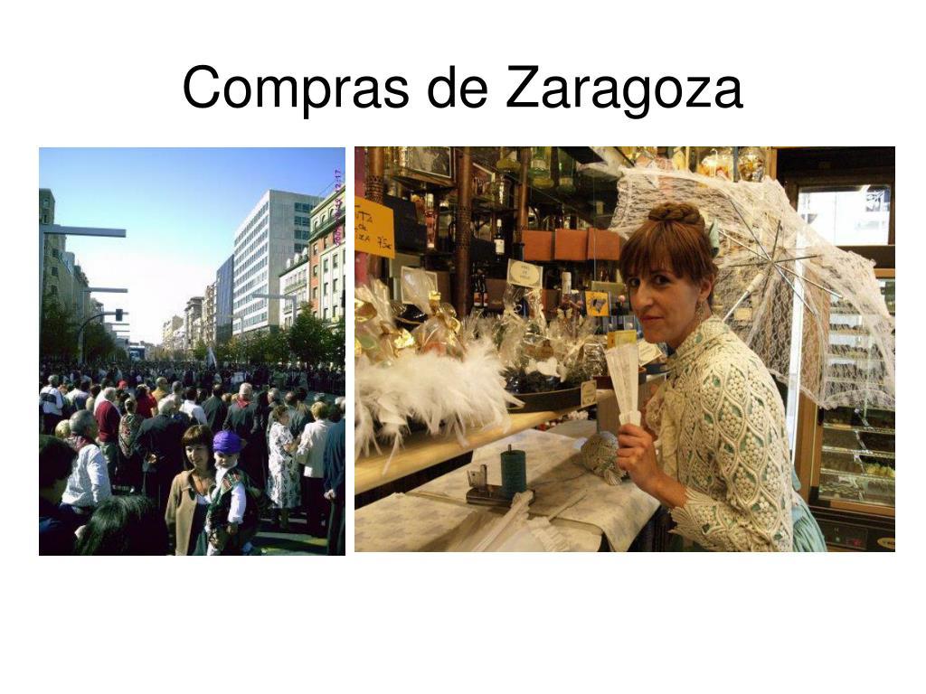 Compras de Zaragoza