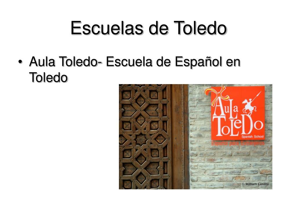 Escuelas de Toledo