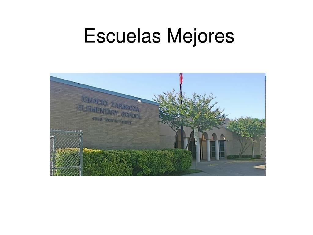 Escuelas Mejores