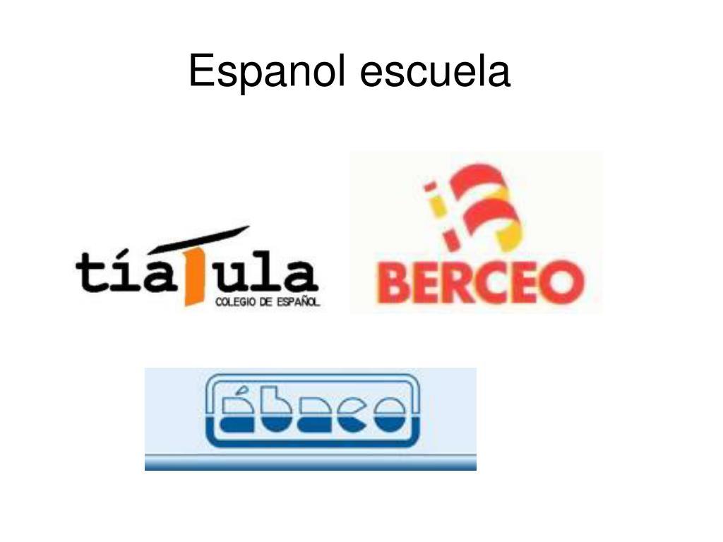 Espanol escuela